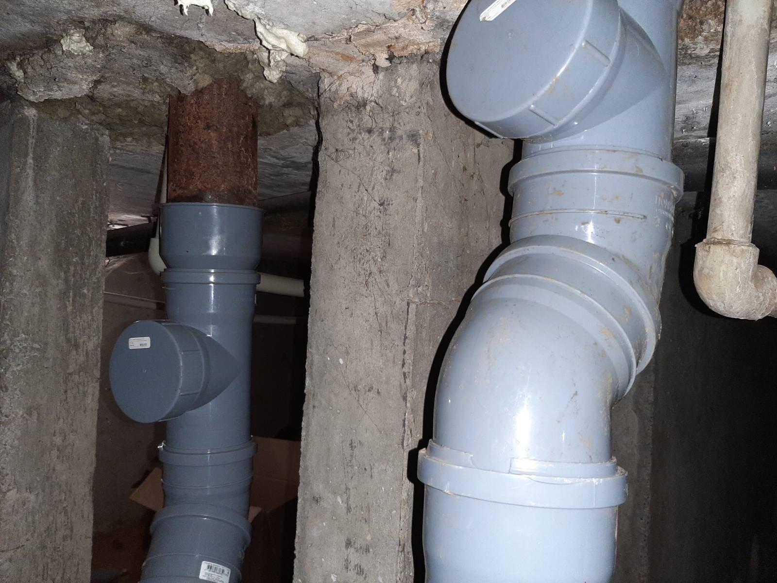Улица Московская дом 173 капитальный ремонт канализации