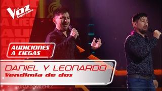 """Daniel y Leonardo Vilchez – """"Vendimia de dos"""" – Audiciones a Ciegas – La Voz Argentina 2021"""
