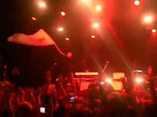 Miles Kane Give Up! Saint Petersburg  and flag :)