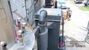 Испытание газогенератора на древесной щепе