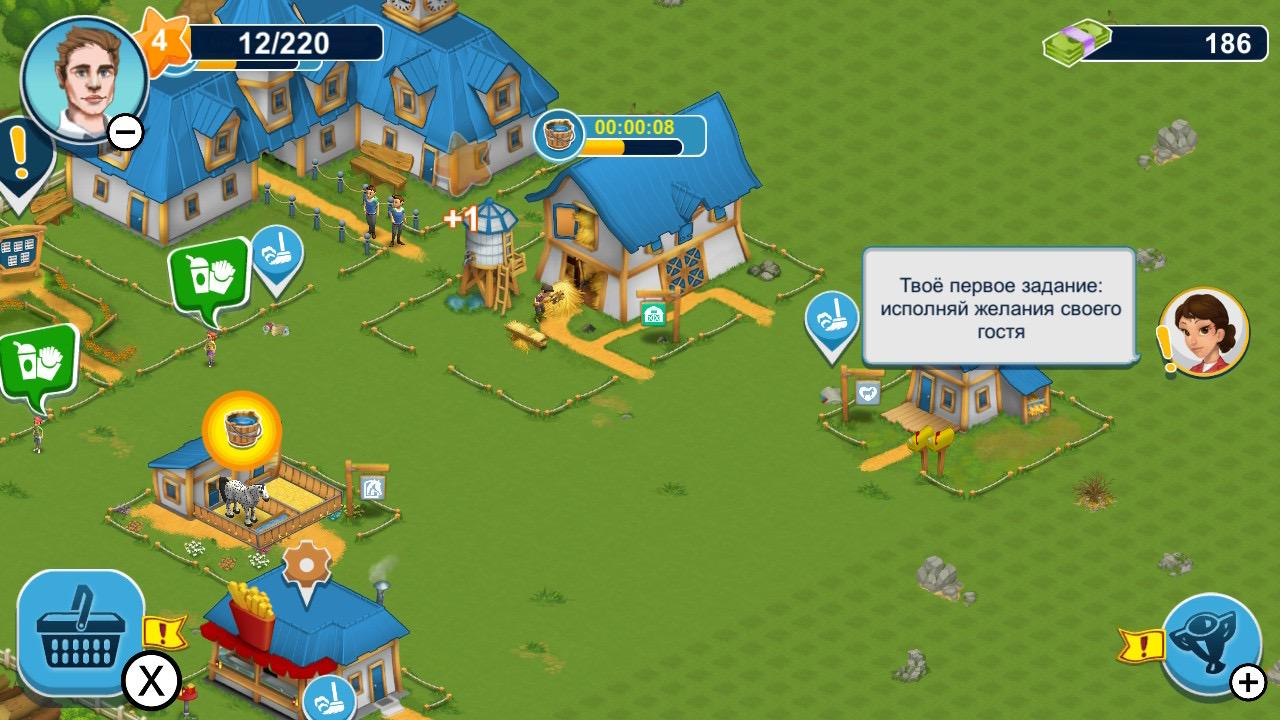 Обзор Horse Farm - Мобильный гейминг жив!, изображение №3