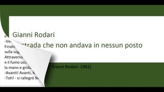 Изучаем итальянский язык посредством чтения.La strada che non andava in nessun posto-4