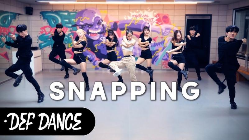 CHUNG HA (청하) - 스내핑 (Snapping) 커버댄스 No.1 댄스학원 KPOP DANCE COVER 데프월말평가 가수오디션 defdance