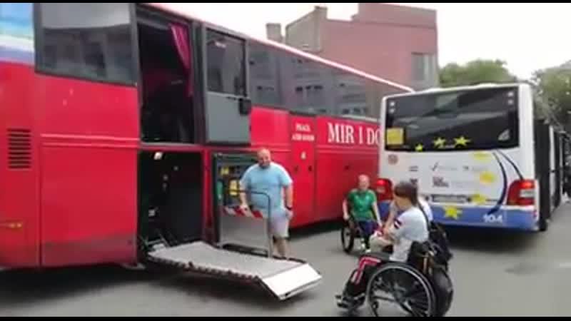 Arī lielos autobusus var pielāgot!