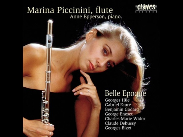 Marina Piccinini Anne Epperson: Charles-Marie Widor / Belle Epoque Suite for Flute Piano