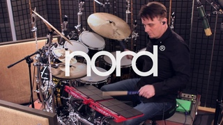 Gavin Harrison plays his latest patches across two Nord Drum 3Ps