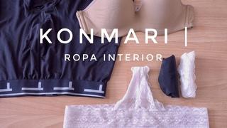 Cómo doblar ropa interior | Método KonMari por Marie Kondo