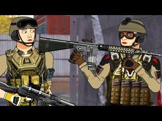 Самый ОТБИТЫЙ НУБ! Варфейс/Warface (Анимация) 6 серия.