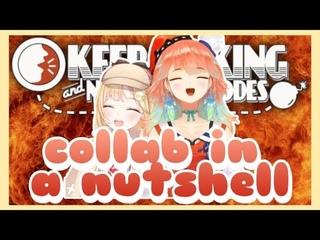 Keep Talking and Nobody Explodes Collab in a Nutshell [Amelia Watson] [Takanashi Kiara]