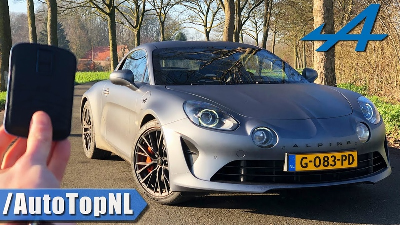 Alpine A110S REVIEW POV Test Drive on ROAD AUTOBAHN NO SPEED LIMIT by AutoTopNL