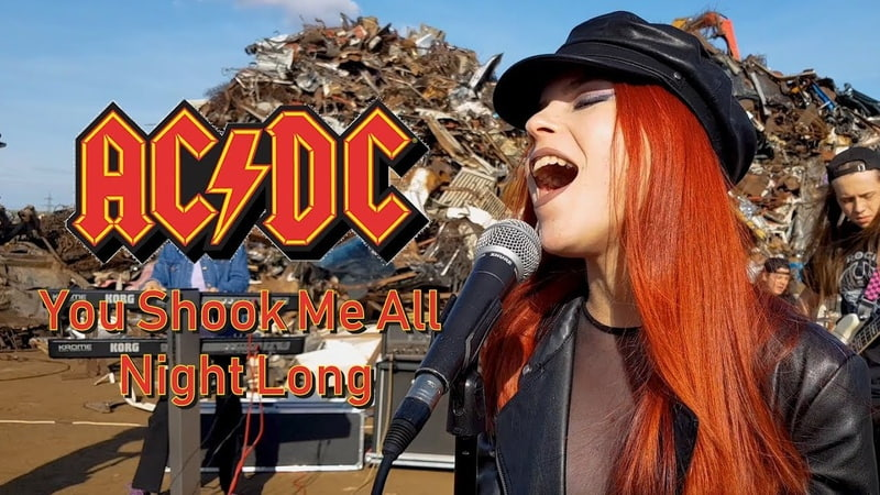 You Shook Me All Night Long - AC/DC; By The Iron Cross