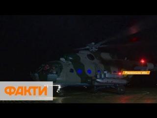 Украина впервые подняла в воздух Ми-8 и Ми-24 ночью:  учения на Ровенщине