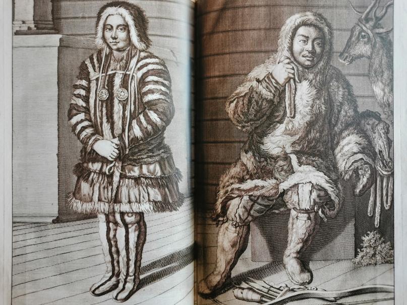 Корнелис де Брюйн Самоеды, 1714 год
