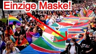 CSD-Demo in Dresden: Keine Abstände, keine Masken | Werden wir betrogen?
