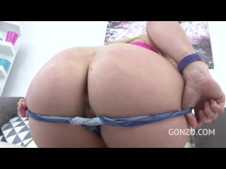[Legal ASS]American PAWG AJ Applegate hard anal DP with 3 cocks ANAL Slut Anal DP DAP Good Gapes BBC FUCK in ASS