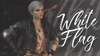 the witcher 3 multifemale ✦ white flag (collab)