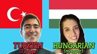Similarities Between Turkish and Hungarian