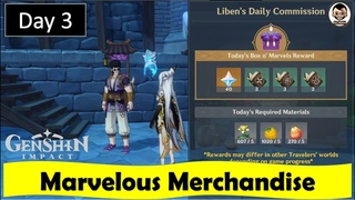 Marvelous Merchandise - Day 3 | Genshin Impact