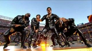 Coldplay's Full Super Bowl 50 Halftime Show feat  Beyoncé  Bruno Mars!  NFL