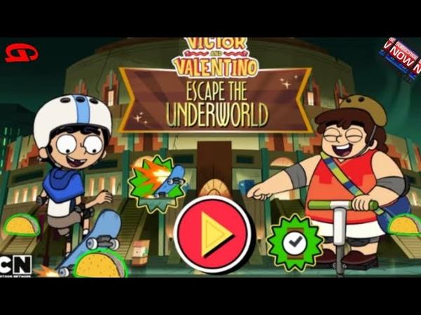 Victor and Valentino Escape the Underworld CN Games