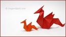 Tutorial Origami Dragon Dragón de papel