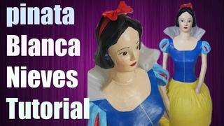 Tutorial Pinata Blanca Nieves