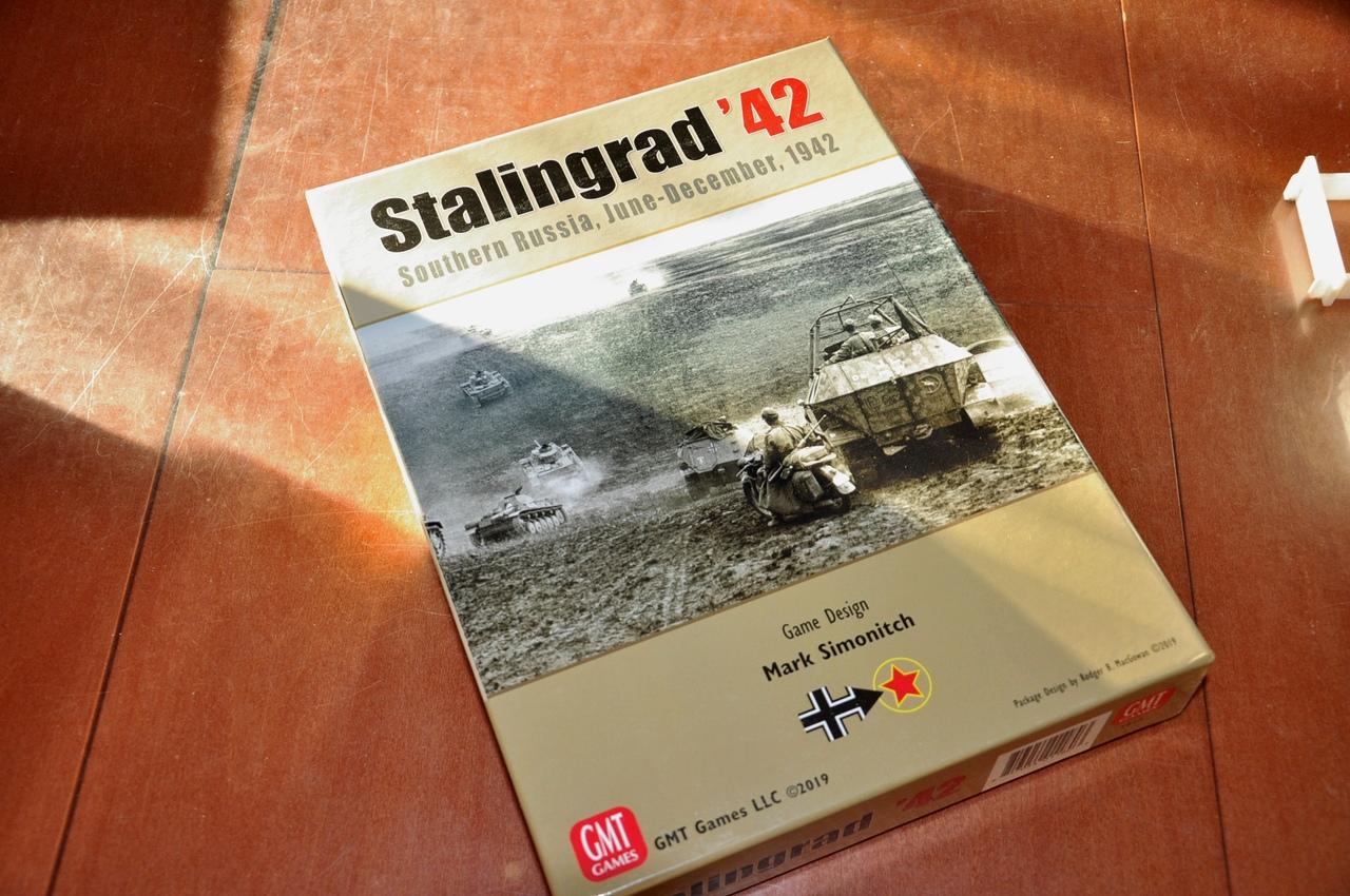 Вот так выглядит коробка Stalingrad '42, будто вы не знали