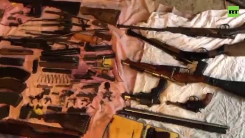 ФСБ задержала группировку чёрных копателей они продавали оружие времён Великой Отечественной войны