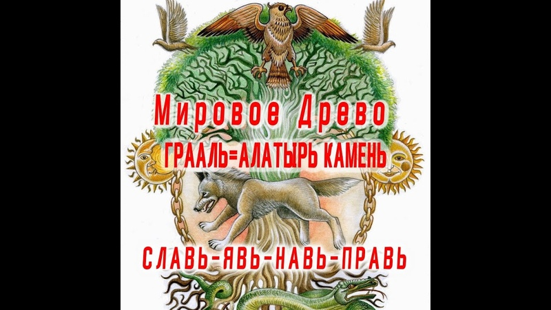 Найдены Мировое Древо и Алатырь камень (Грааль)! / Виктор Максименков
