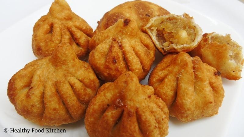 Fried Modak Recipe in Tamil Fried Mothagam Crispy Fried Kozhukattai Puranam Kolukattai Recipe