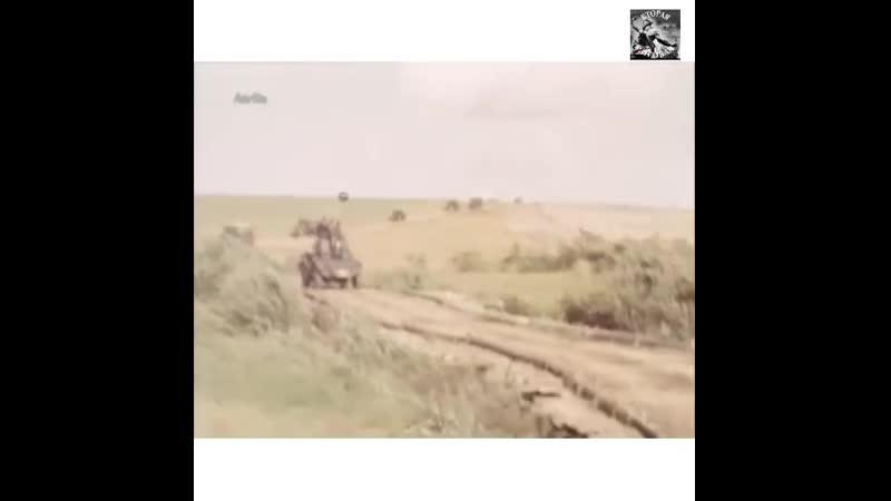 Кадры немецкой хроники в цвете 22 24 июня 1941 года