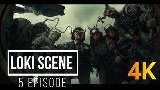 Loki meets other variants (Локи встречает других вариантов) [4K] LOKI Scenes