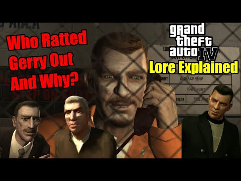 Who Really Ratted Out Gerry McReary And Why GTA 4 Lore Explained