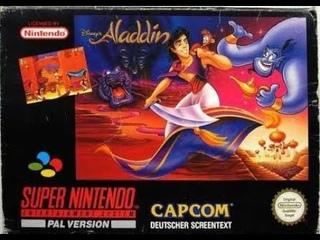 Super Nintendo Aladdin Полное прохождение