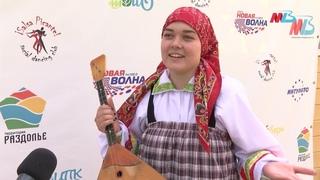 Дарья Сурнужу — «Заиграла балалайка» / Пойма Фест