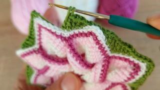 You will love the pattern I knit.🥰Tığ işi daha önce görmediğiniz şahane motif modeli