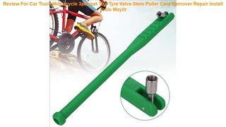 Review For Car Truck Motorcycle 3pcs/set Tire Tyre Valve Stem Puller Core Remover Repair Install To