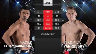 ACA 122 Мазияр Эльхамивармезани vs Владислав Янковский Maziar Elhamivarmezani vs Vladislav Yankovsky