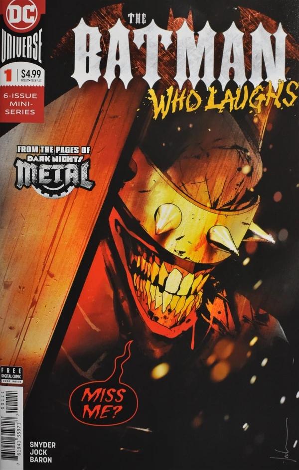 Batman Who Laughs marvelmuvie Бэтмен, который смеётся