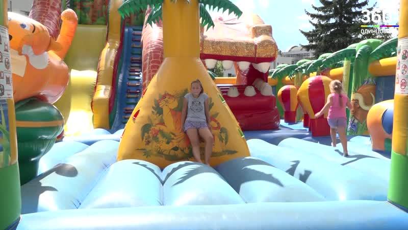 Безопасность аттракционов проверили в парке Малыш