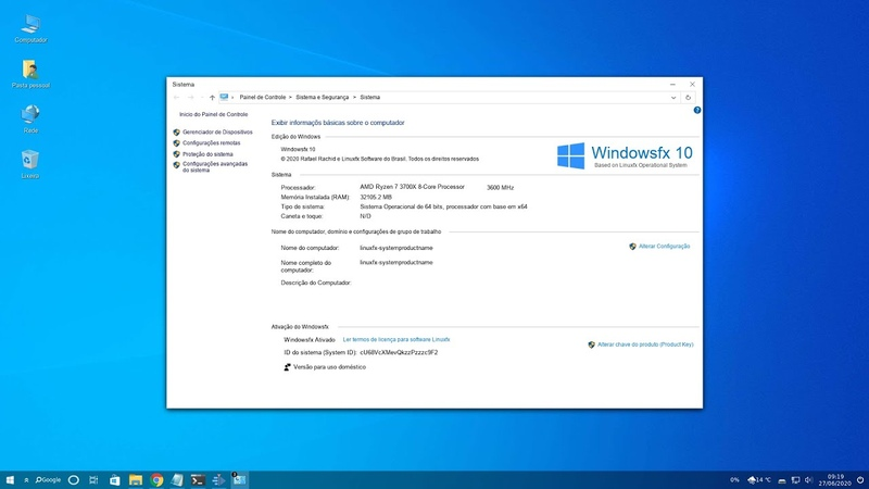 Windowsfx 10 3 WX DESTOP Linuxfx 10 based