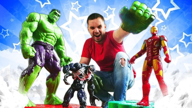 Venom Marvel Süper Kahramanlara karşı. Hulk, Ironman, Kaptan Amerika ve Thanos oyunları