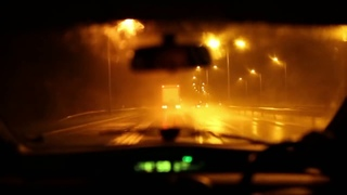 White Ferrari Outro by Frank Ocean on repeat as you drive through the rainy night for an hour
