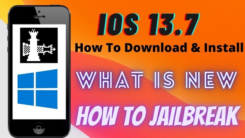 IOS 13.7 jailbreak - new jailbreak ios 13.7 Windows (How to install What is new how to jailbreak )