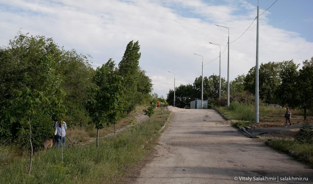 Парк на Соколовой горе, Саратов 2020