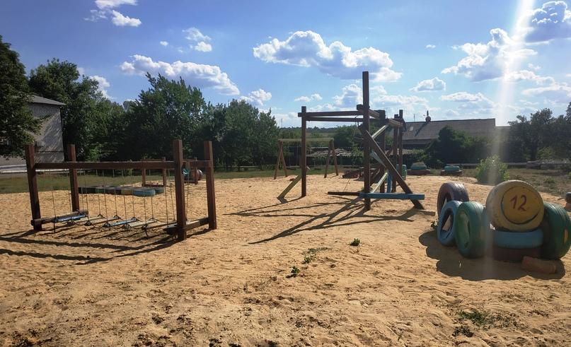 Фото: Детская игровая площадка в Красном Партизане