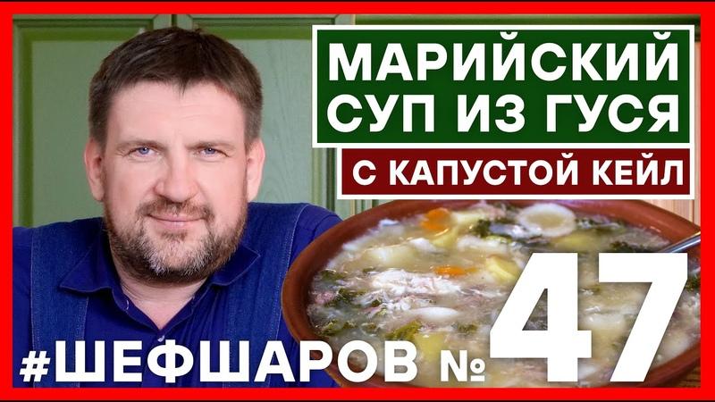 Как приготовить МАРИЙСКИЙ СУП ИЗ ГУСЯ С КАПУСТОЙ КЕЙЛ шефшаров 500супов щи суп