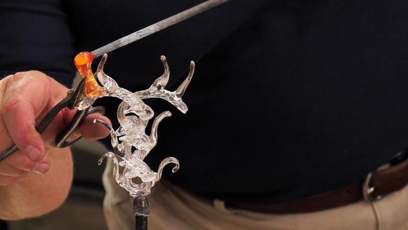 Serpent Chalice Techniques of Renaissance Venetian Style Glassworking