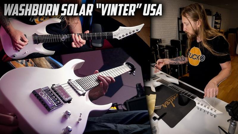 MY GUITAR Washburn Solar VINTER USA Custom Shop