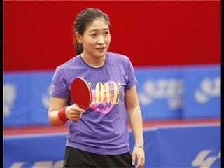 Liu Shiwen training With coach Ma Lin and best 10 poit